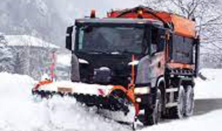 unita sgombero neve e spargimento cloruri autocarri 2 3 4 assi - faro